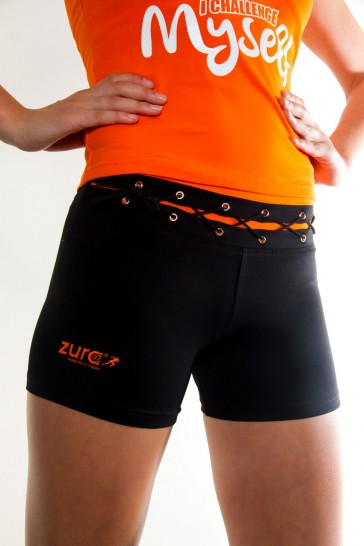 Zura String Boy Shorts - Orange