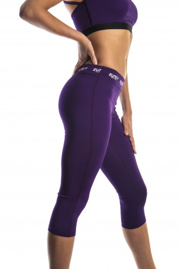 Enhancement 3/4 Tights - Purple