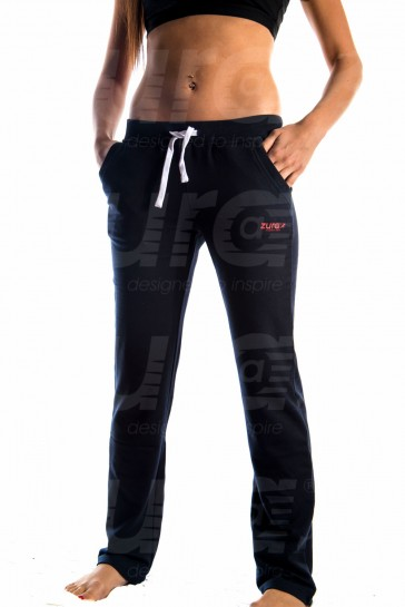 Plush Pants - Blue (with Red logo)