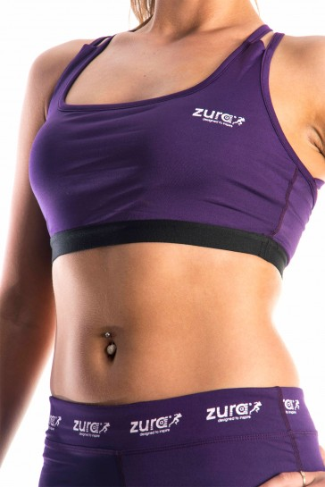 Enhancement Sports Bra - Purple