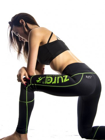 Everest Compression Tights - Green