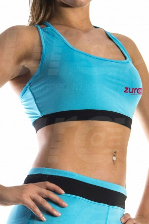 Enhancement Sports Bra - Light Blue