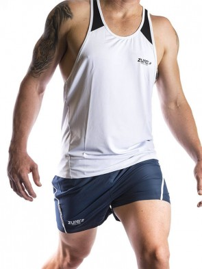Muscle Tank Top - White