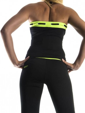 Yoga Cross Top - Green
