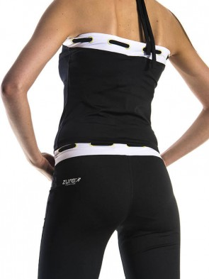 Yoga Cross Top - White