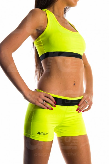 Essential Sports Bra - Neon Green