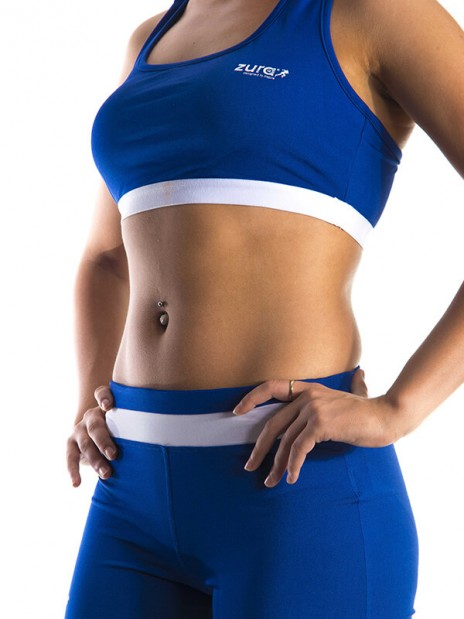 Essential Sports Bra- Blue