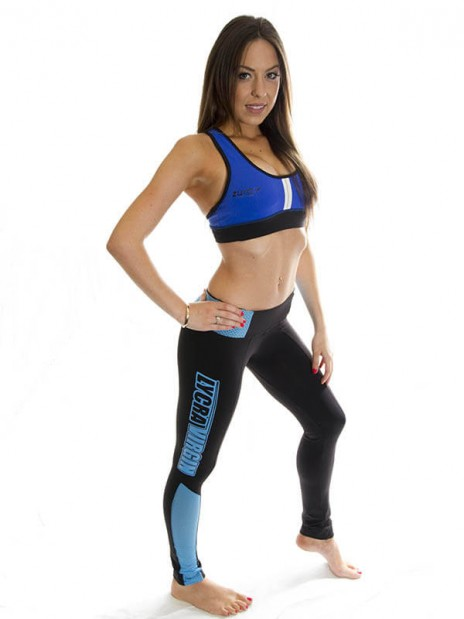 Lycra Virgin Tights - Blue