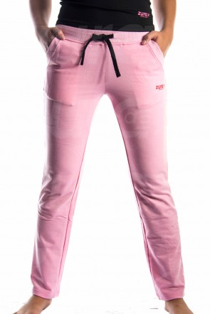 Plush Pants - Pink (with Red logo)
